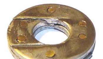 demies rondelles de friction de gonds embotables