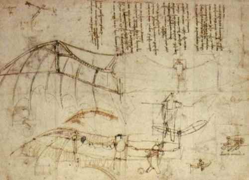 da-Vinci-sketch-of-a-flying-machine-1
