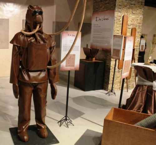 model-replica-of-da-Vinci-diving-suit